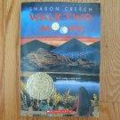 WALK TWO MOONS by Sharon Creech ~ Homeschool Sonlight Newbery Medal Winner ISBN:  0-590-67409-9