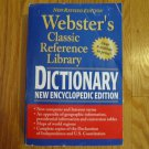 WEBSTER'S DICTIONARY  Encyclopedia Edition 2001 ISBN 0-7696-1594-5 Softcover