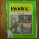 READING FOR CHRISTIAN SCHOOLS 6 WORKTEXT TEACHER'S EDITION ISBN 0-89084-342-2 BOB JONES UNIVERSITY