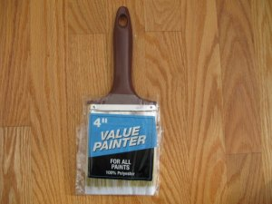 "VALUE PAINTER 4"" paint brush NEW 100% POLYESTER"