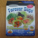 GOURMET TRENDS FOREVER BAGS FOOD SAVER BAGS 16 COUNT BAGS (2 SIZES) NEW IN BOX