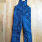 SWING WEST YOUTH sz. 14 - 16 (fits 10-12) NAVY BIBBED SNOW PANTS SKI SNOWBOARD WINTER OUTERWEAR