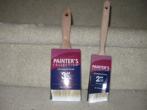 "PAINTER'S COLLECTION 2"" paint brush NEW ANGLE SASH"