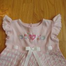 YOUNGLAND GIRL'S SIZE 3 T DRESS PINK EASTER CHURCH