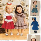 "SIMPLICITY 1245 AMERICAN GIRL 18"" DOLL CLOTHES PATTERN 1940's 50's HISTORICAL NEW MOLLY KIT"