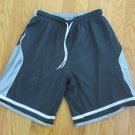 NIKE BOY'S SIZE M (10-12)? SHORTS GRAY & CHARCOAL REVERSIBLE ATHLETIC ELASTIC WAIST DRAWSTRING