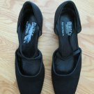 MUNRO AMERICAN WOMEN'S SIZE 7 1/2 M BLACK SHOES STRAPPY HEELS OFFICE DRESS USA MADE NEW