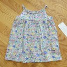 TOMMY HILFIGER GIRL'S SIZE 3-6 mo. DRESS BLUE  PASTEL FLORAL CHURCH SUN NWT