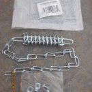 WRIGHT STORM OR SCREEN DOOR CHAIN SPRING & CHAIN DOOR RETAINER WITH MOUNTING HARDWARE NIP NEW