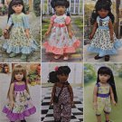 "SIMPLICITY 8070 AMERICAN GIRL 18"" DOLL CLOTHES PATTERN EASTER DRESS, JUMPSUIT, ROMPER NEW"