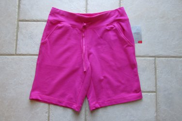 DANSKIN NOW WOMEN'S SIZE S (4-6) FUCHSIA PINK SHORTS LOOSE FIT KNIT NEW W/ TAG