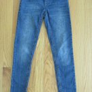 JORDACHE GIRL'S SIZE 10 MEDIUM BLUE DENIM JEANS SUPER SKINNY JEGGINGS LEGGINGS