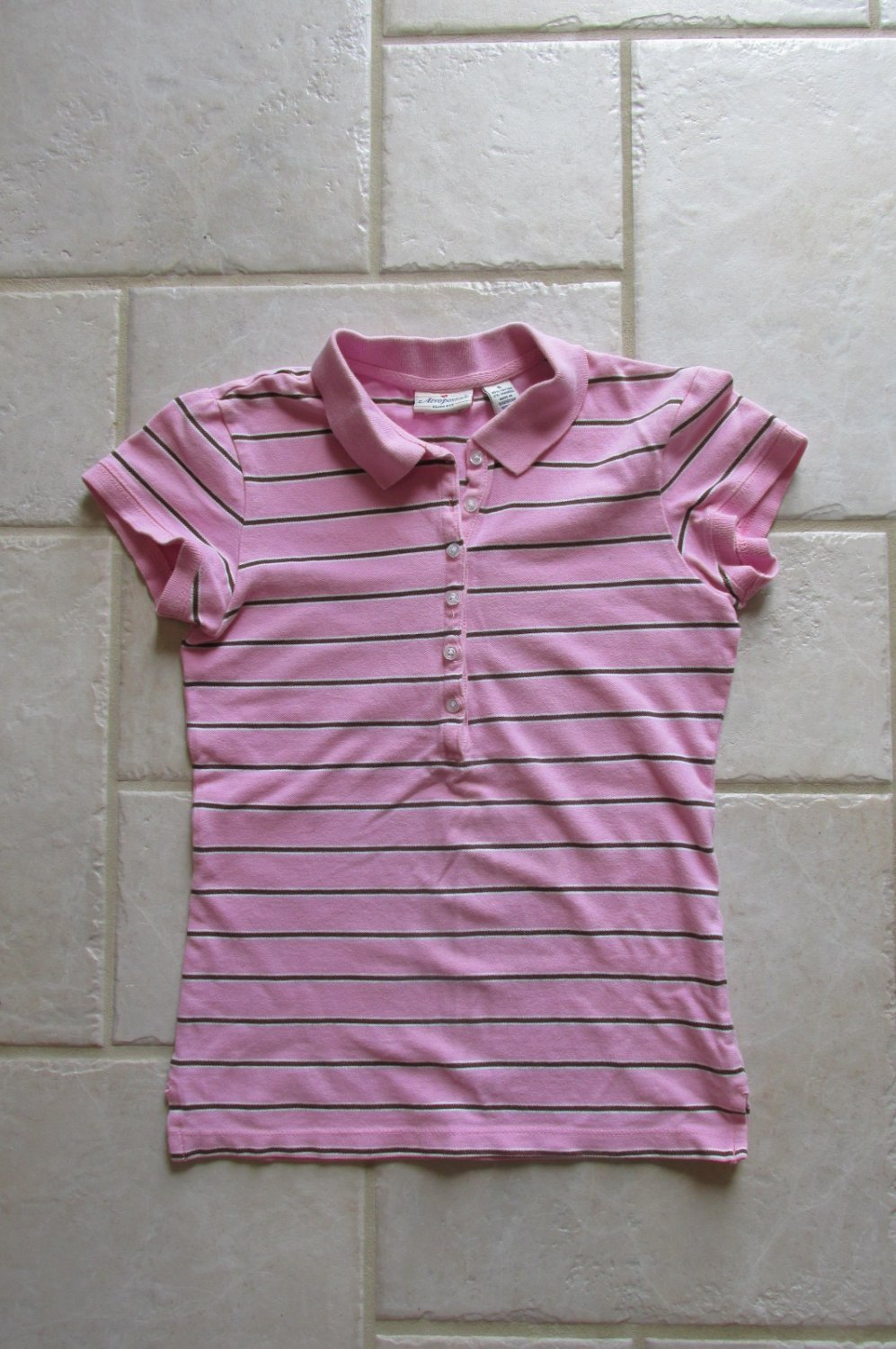 WOMEN'S SIZE S TOPS SET OF 5  PASTEL SPRING CASUAL AEROPOSTALE