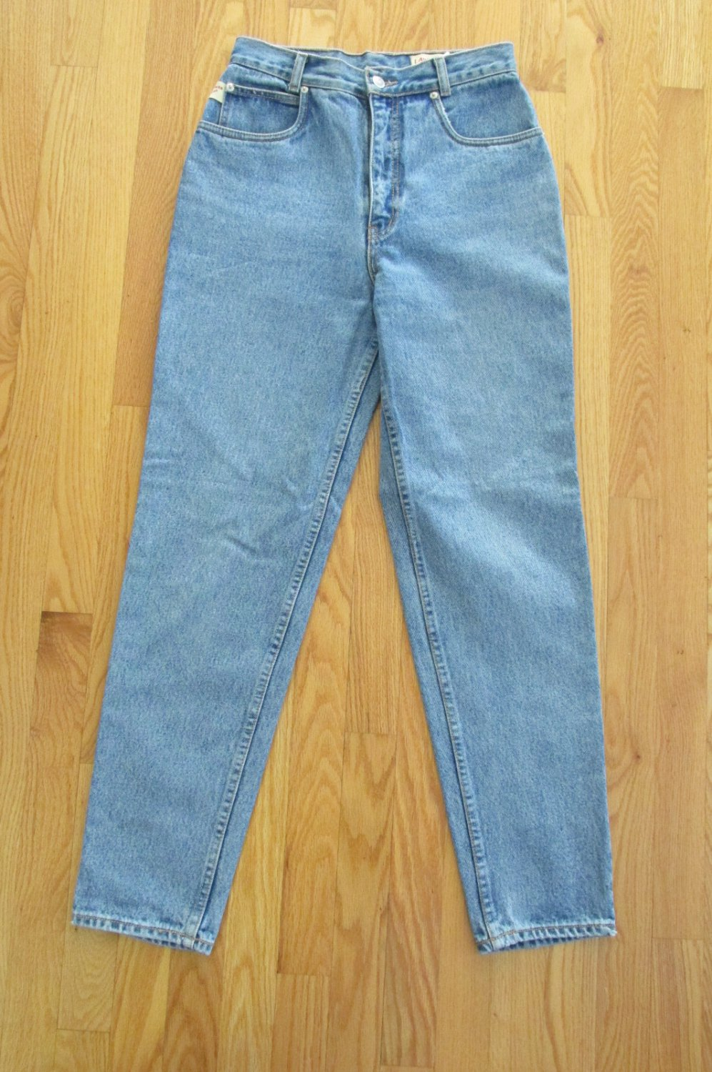 LAWMAN WOMEN'S JUNIOR'S SIZE 9 JEANS STONE WASHED TAPERED LEG MOM HIGH WAIST COUNTRY WESTERN VINTAGE