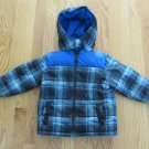 FADED GLORY BOY'S SIZE 24 mo. COAT OUTERWEAR PLAID JACKET