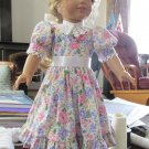 "AMERICAN GIRL 18"" DOLL CLOTHES EASTER PARTY DRESS, LIFE OF FAITH, DAISY KINGDOM FLORAL NEW"