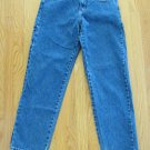 UNION BAY WOMEN'S S JUNIOR'S SIZE 7 JEANS MED. BLUE DENIM CARPENTER PAINTERS WORK STRAIGHT LEGS