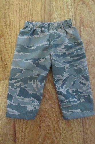 "AMERICAN GIRL 18"" DOLL CLOTHES DIGI CAMO PANTS BOY LOGAN, TENNEY AIR FORCE ARMY NEW"