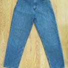 EDDIE BAUER WOMEN'S SIZE 10 P JEANS MEDIUM BLUE LOOSE FIT