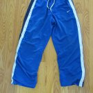 NIKE BOY'S SIZE M 8 ? ATHLETIC PANTS ROYAL BLUE REVERSIBLE TO NAVY TRACK RUNNING, BASKETBALL