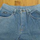 LEE 1889 MEN'S SIZE 30 X 30 JEANS LIGHT BLUE STONE WASHED 80'S TAPERED LEGS