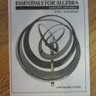 HOUGHTON MIFFLIN ESSENTIALS FOR ALGEBRA MATHEMATICS TESTS BOOK ISBN # 0-395-32227-8 C 1984