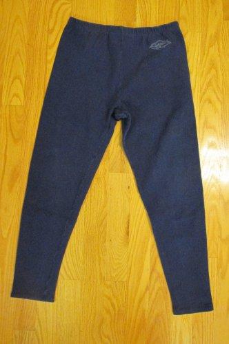 DISNEY ORIGINALS GIRL'S SIZE M LEGGINGS NAVY BLUE CLASSIC MADE IN USA