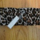 WALMART GIRL'S ONE SIZE HEADBAND BLACK, BROWN, & TAN LEOPARD CHEETAH PRINT  NWT