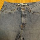 GAP MEN'S SIZE 30 X 32 JEANS MED BLUE STONE WASHED RELAXED BOOT CUT