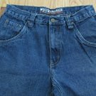 OTB ONE TOUGH BRAND MEN'S SIZE 30 X 32 JEANS MED BLUE STONE WASHED STRAIGHT LEG