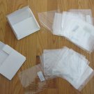 RECYCLED CLEAR PLASTIC CD DVD SLEEVES 50 COUNT