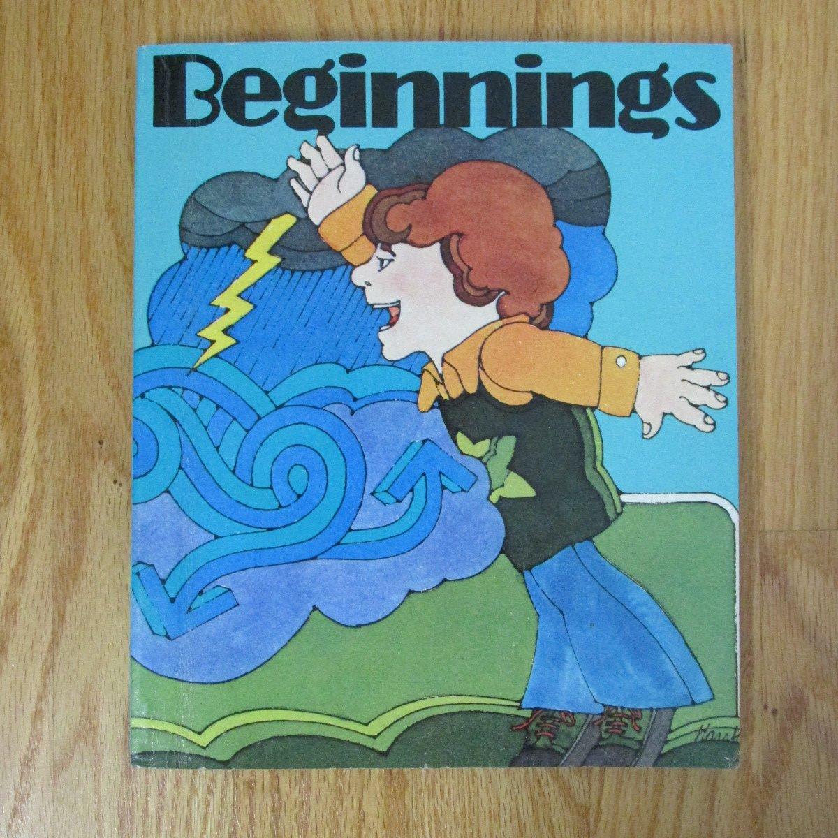 BEGINNINGS BOOK LITERATURE READER TEXTBOOK GRADE MACMILLAN 1975 SHORT STORIES