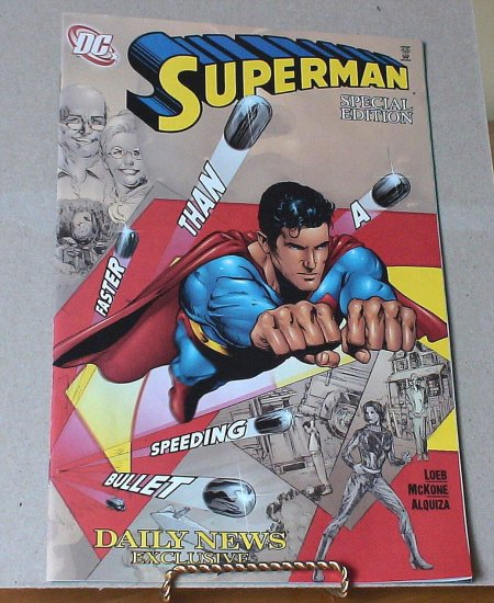 Superman Comic - New York Daily News Exclusive - Special Edition
