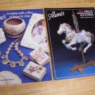 2 Aleene's Craft Booklets