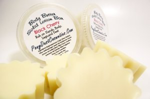 Solid Lotion with Shea and Cocoa Butters Vanilla