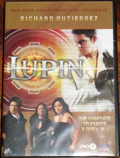 LUPIN DVD Complete Set Limited Edition Box Set Tagalog