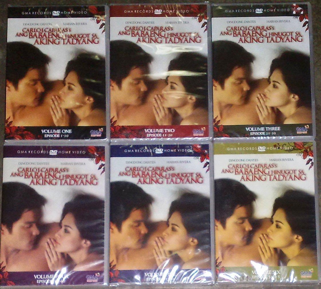 BABAENG HINUGOT SA AKING TADYANG COMPLETE DVD SET vol. 1-6