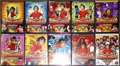 SUPER INGGO DVD Vol 1 - 10 BRAND NEW Tagalog Series