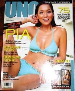 UNO Magazine Philippines DEC 2004 PIA GUANIO Cover