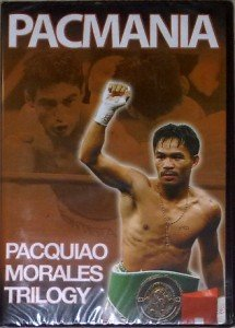 MANNY PACQUIAO vs ERIK MORALES Trilogy DVD Pacmania NEW