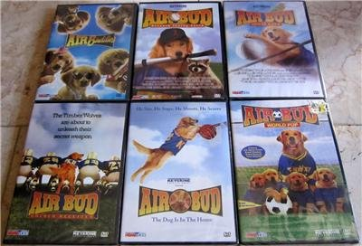 AIR BUD Lot of 6 DVD Movies Brand New!