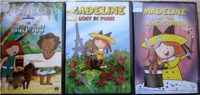 MADELINE Lot of 3 DVD Brand New!