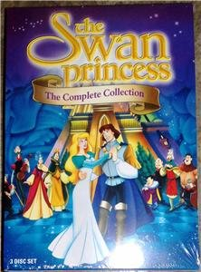 THE SWAN PRINCESS DVD Collection 3-DVD Set Brand New!