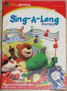 BABY GENIUS Sing-A-Long Series DVD Boxed Set NEW SEALED