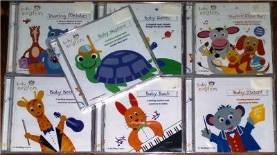BABY EINSTEIN Lot of 7 CD Mozart Bach Lullaby BRAND NEW