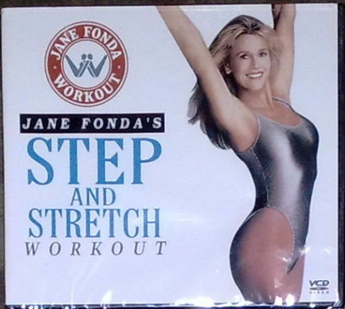 JANE FONDA'S Step And Stretch Workout VCD Brand New!