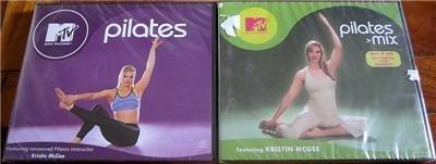 MTV Pilates Set of 2 VCD Kristin McGee Brand New Sealed