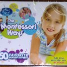 SING LEARN & PLAY THE MONTESSORI WAY VCD Brand New OOP!