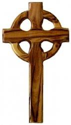 Celtic Cross Olive Wood