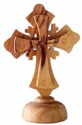 Fancy Cross On Pedestal